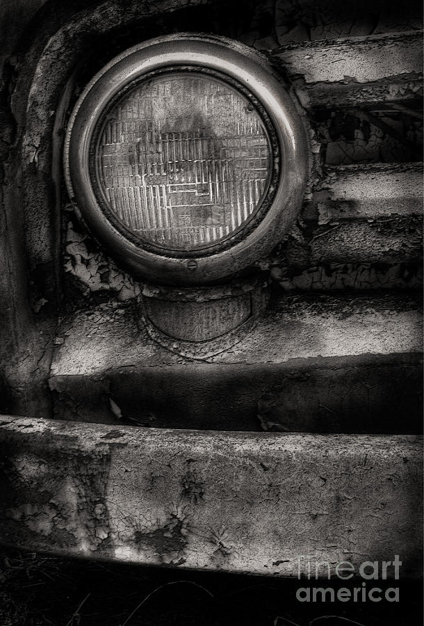 Scotopic Photograph - Scotopic Vision 7 - Headlight by Pete Hellmann