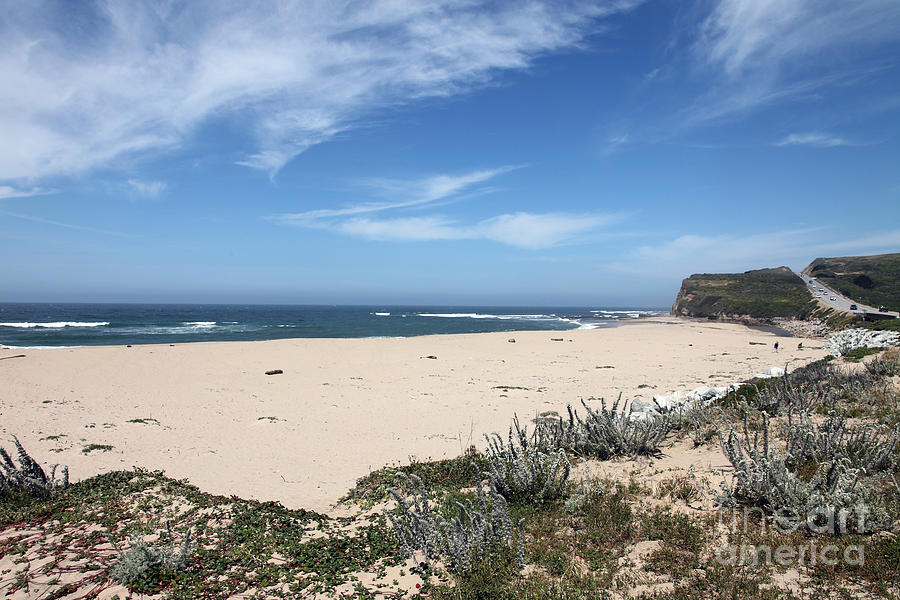 Beaches Photograph - Scott Creek Beach Hwy 1 by Amanda Barcon