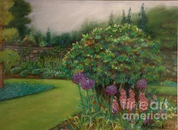 Scottish Garden by M J Venrick