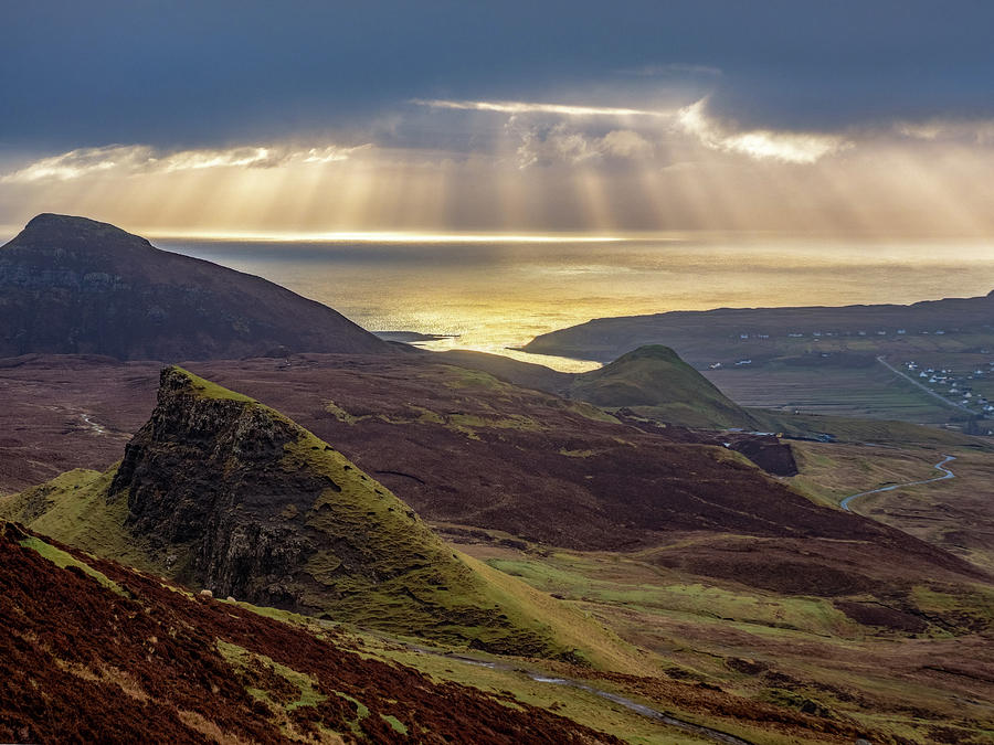 Scottish Highlands Sunrise Photograph by Dan Leffel