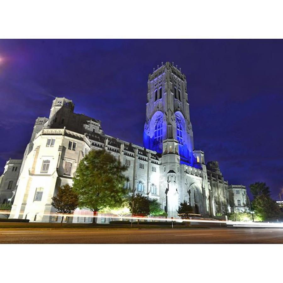 Naptown Photograph - Scottish Rite Cathedral Downtown by David Haskett II