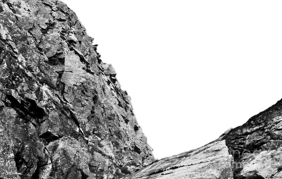 Huntington Ravine Photograph - Scramble by Agata Wisniowska
