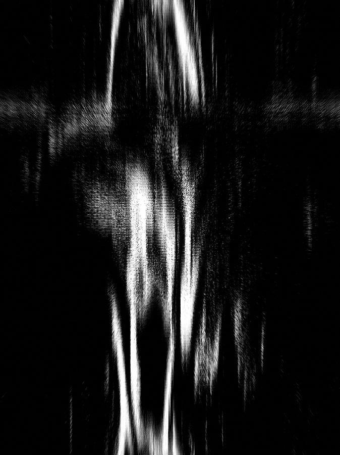 Black Photograph - Scream by Charleen Treasures