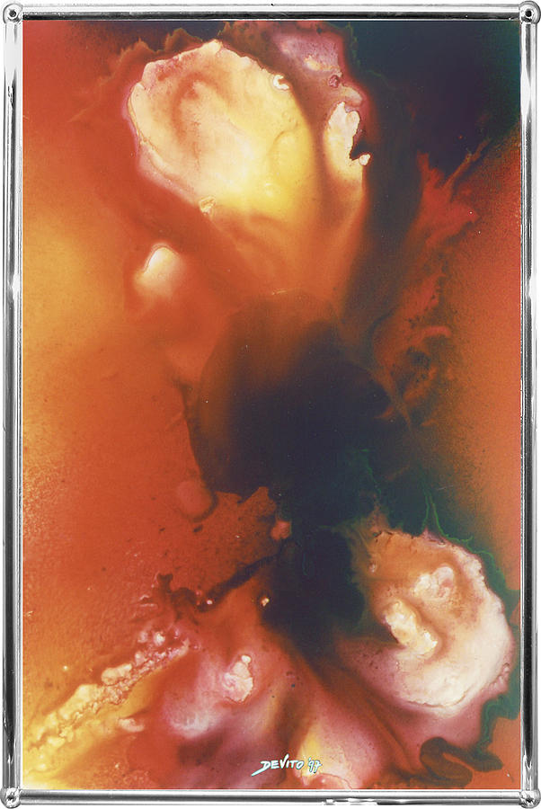 Abstract Painting - Screamout by Salvatore DeVito