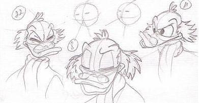 Scrooge Mcduck Drawing - Scrooge Mcduck by Alex Klein