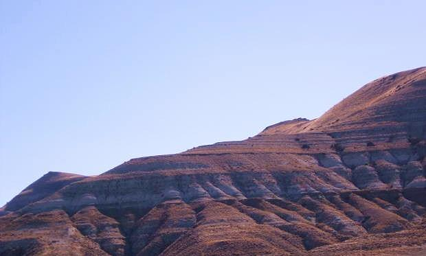 Mountain Photograph - Sculpted By Nature by Nancy Ippolito