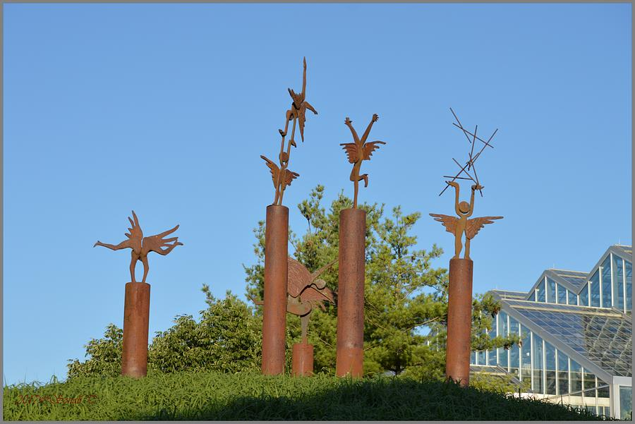 sculpture at meijer s garden photograph by sonali gangane