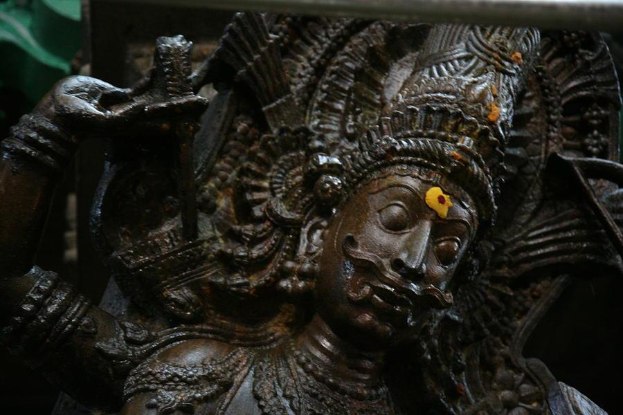 Temple Sculpture Photograph - Sculpture by Deepak Pawar