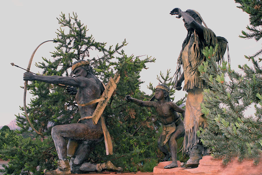 Sculpture-Sedona by Shirley Roberson