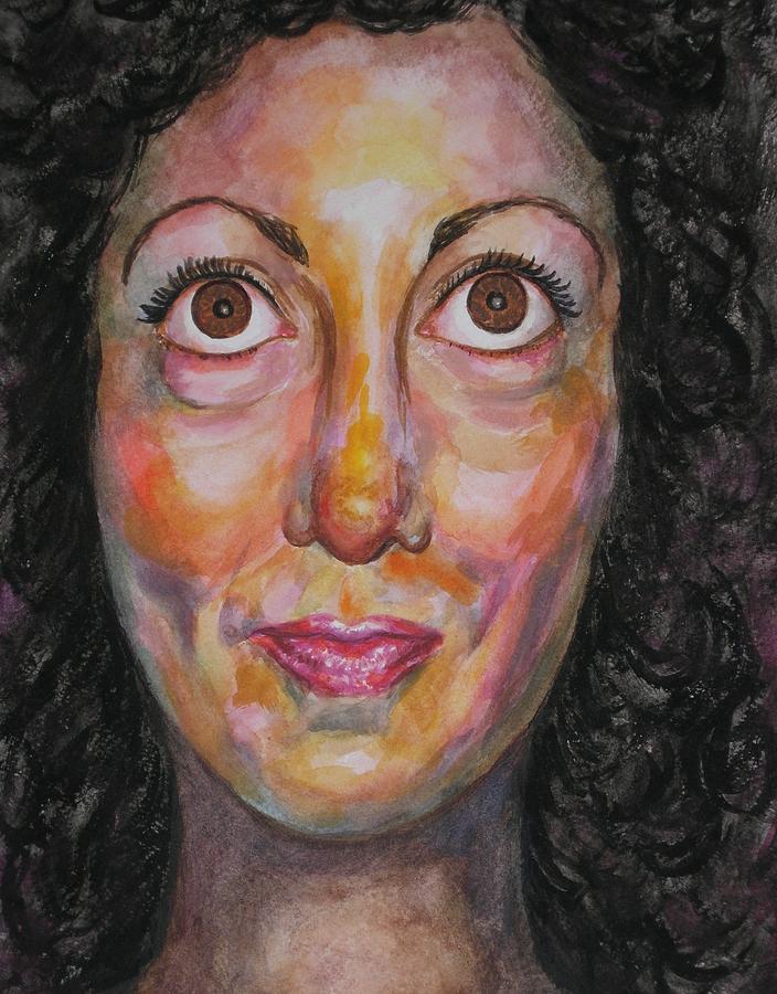 Scusa Ma Mi Scappa Da Ridere Painting by Annalisa Scornavacche