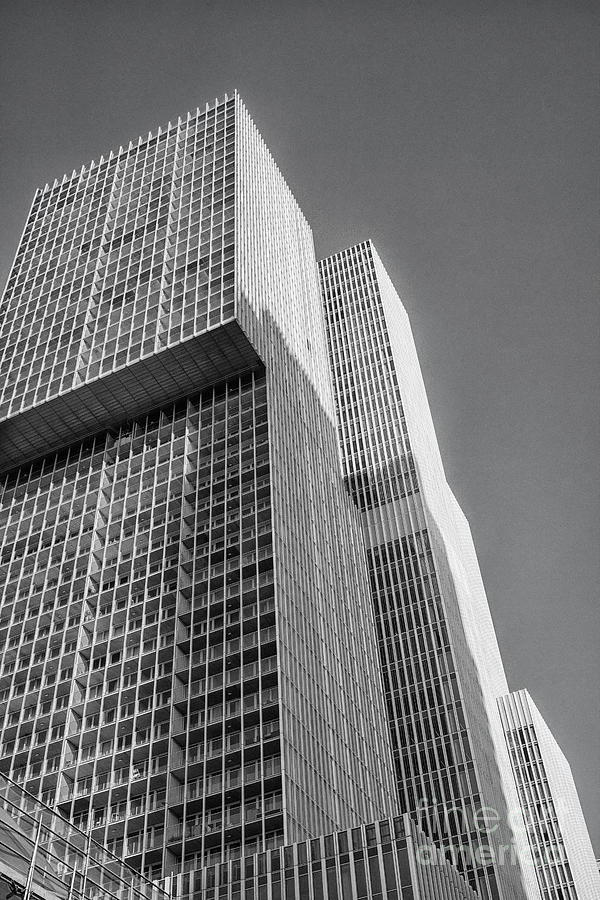 Skyscrapers In Rotterdam Photograph