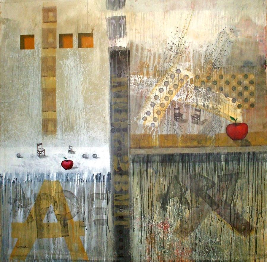 Se Souvenir De La Memoire Painting by Arturo Carrion