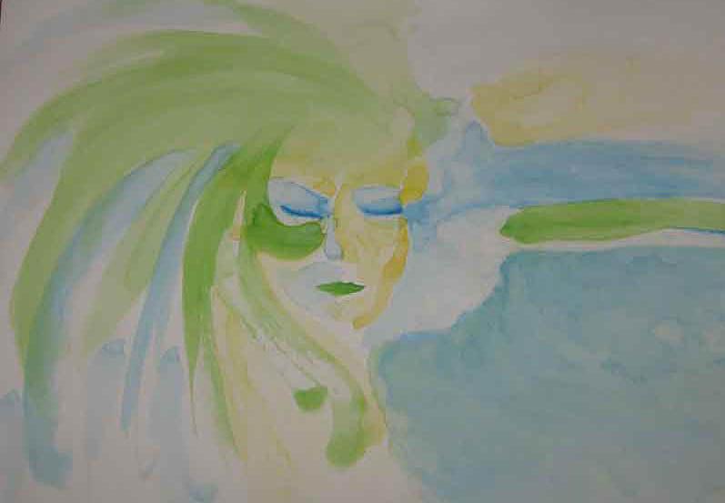 Sea Angel Painting - Sea Angel by Alireza Mobtaker