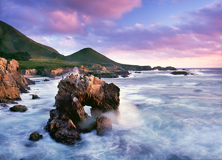 Photography Photograph - Sea Arch by Edward Mendes