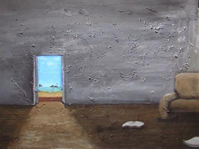 Landscape Painting - Sea Breeze by Takatomo Homma