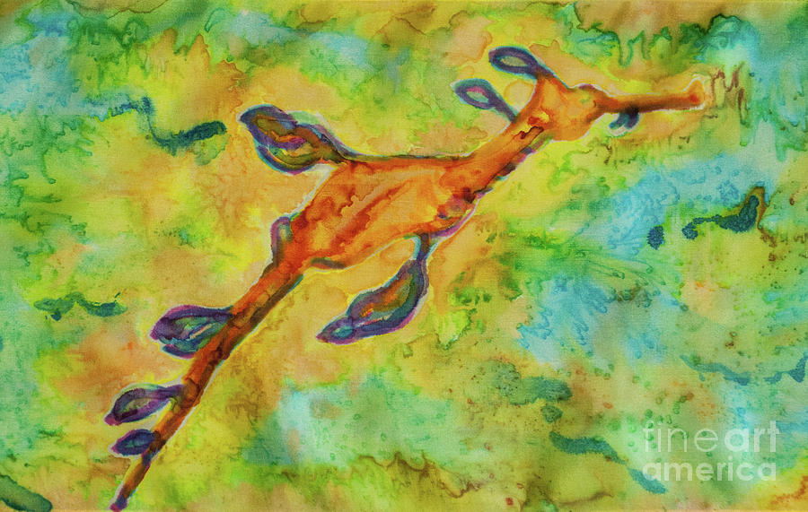 Sea Dragon Tapestry - Textile - Sea Dragon by Jacqueline Phillips-Weatherly
