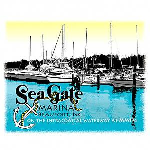Marina  - Sea Gate Marina by Nancy C Toothman
