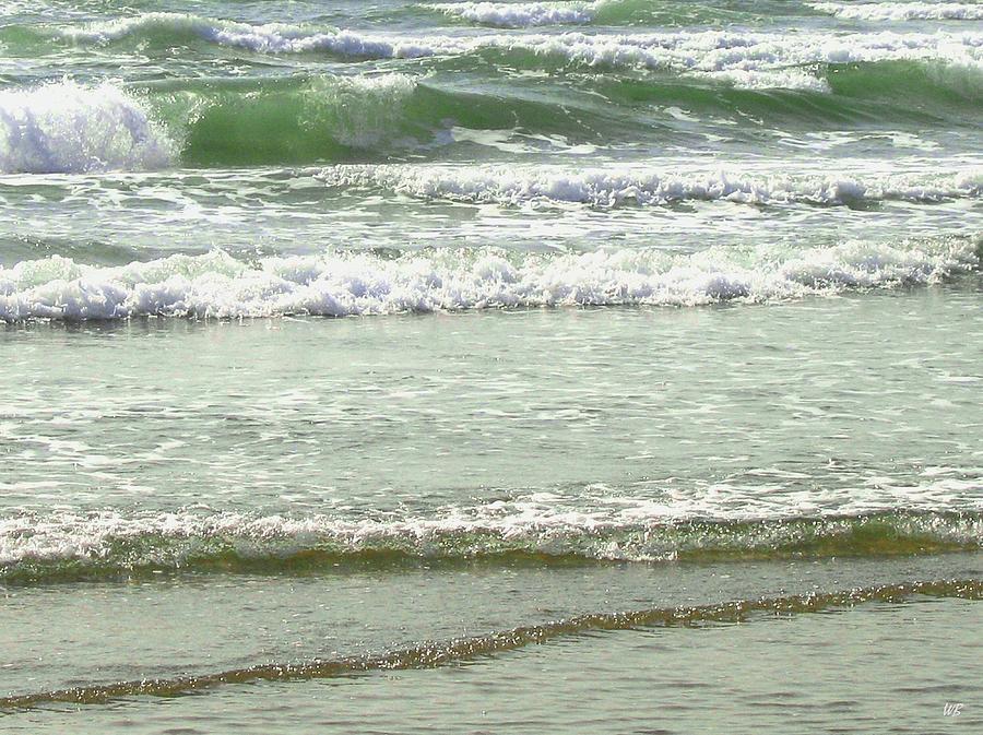Sea Photograph - Sea Green by Will Borden