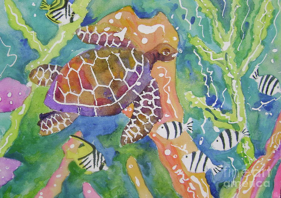 Sea life l by Diane Renchler