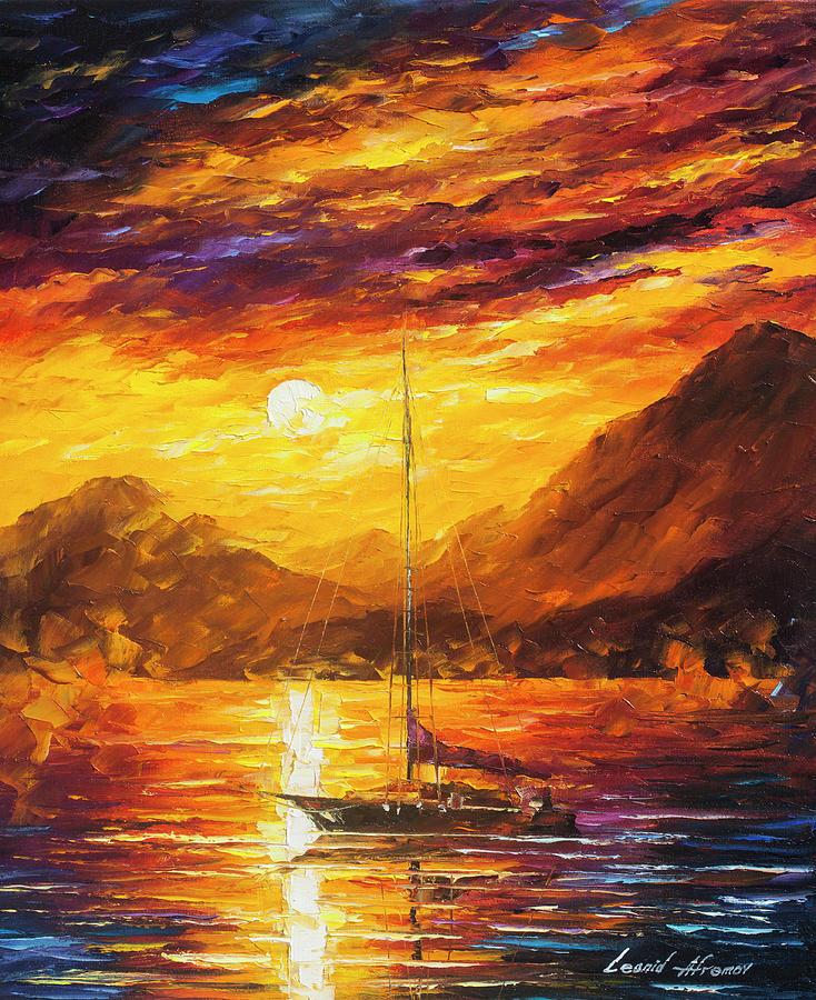 Painting Painting -  Sea Life   by Leonid Afremov