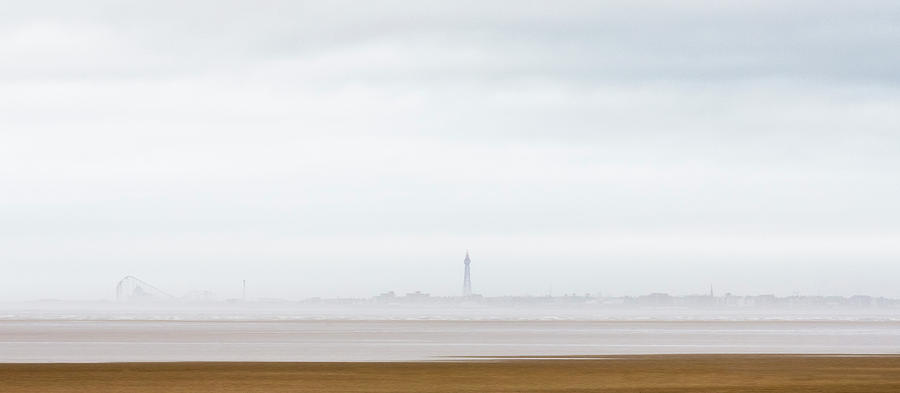 Blackpool Photograph - Sea Mist Approaching Blackpool by Phillips and Phillips