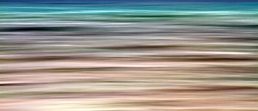 Abstract Photograph - Sea Movement by Stelios Kleanthous