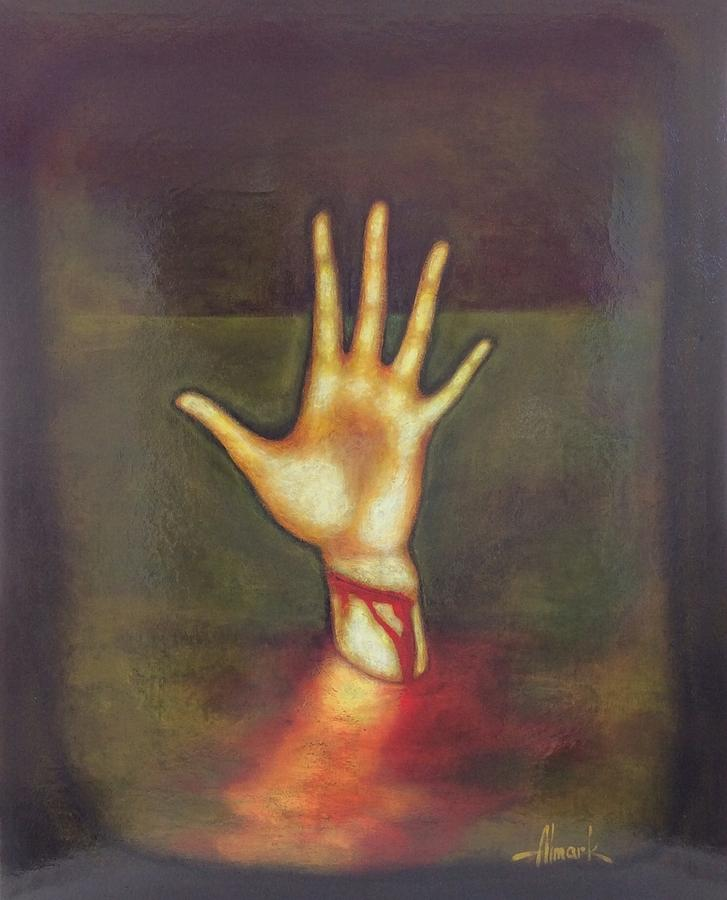 Acrylic Painting Crying