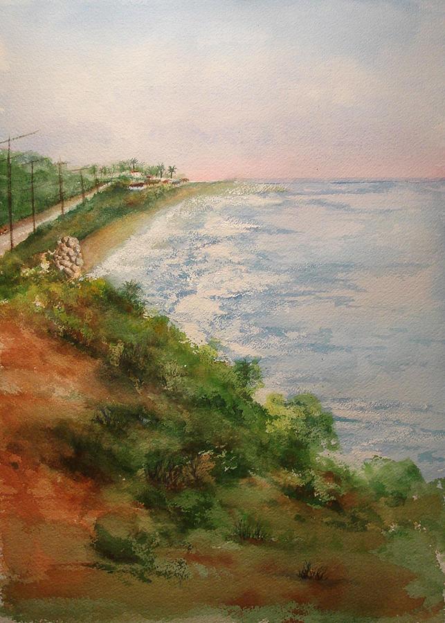 Landscape Painting - Sea Of Dreams by Debbie Lewis