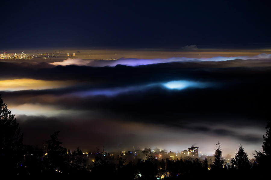 Canada Photograph - Sea Of Fog by Windy Corduroy