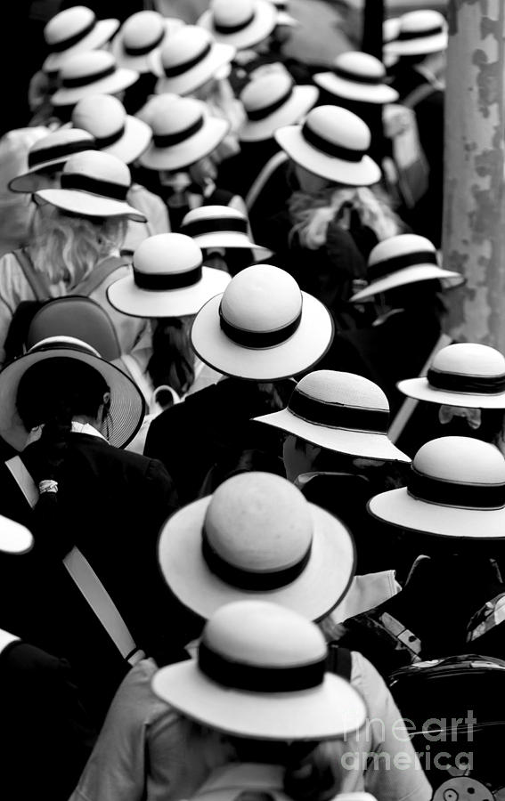 Sea Of Hats Photograph