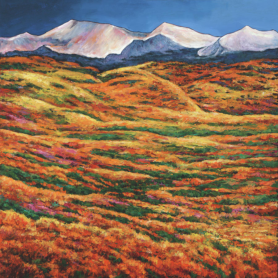 Colorado Landscapes Painting - Sea of Tranquility by Johnathan Harris