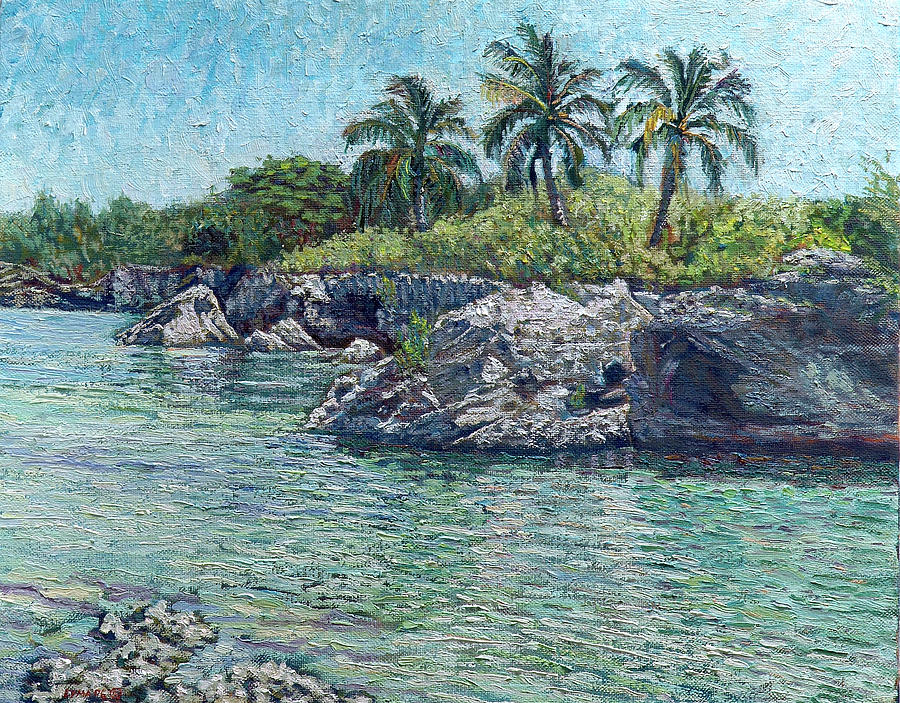 Sea Rocks and Coconuts by Ritchie Eyma