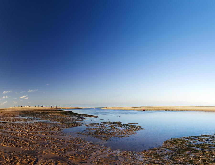 Sea Shore Photograph - Sea Shore Wells Next The Sea Norfolk by Gillian Dernie