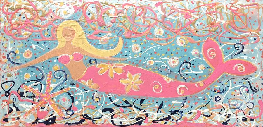 Sea Siren Blondie by Jacqui Hawk