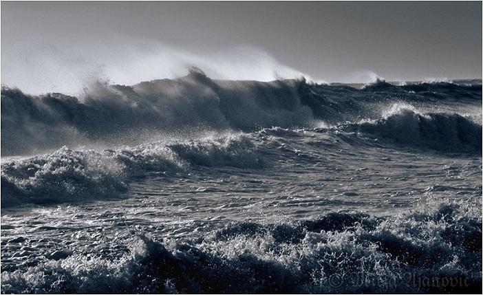 Sea Storm Photograph - Sea Storm by Mirza Ajanovic