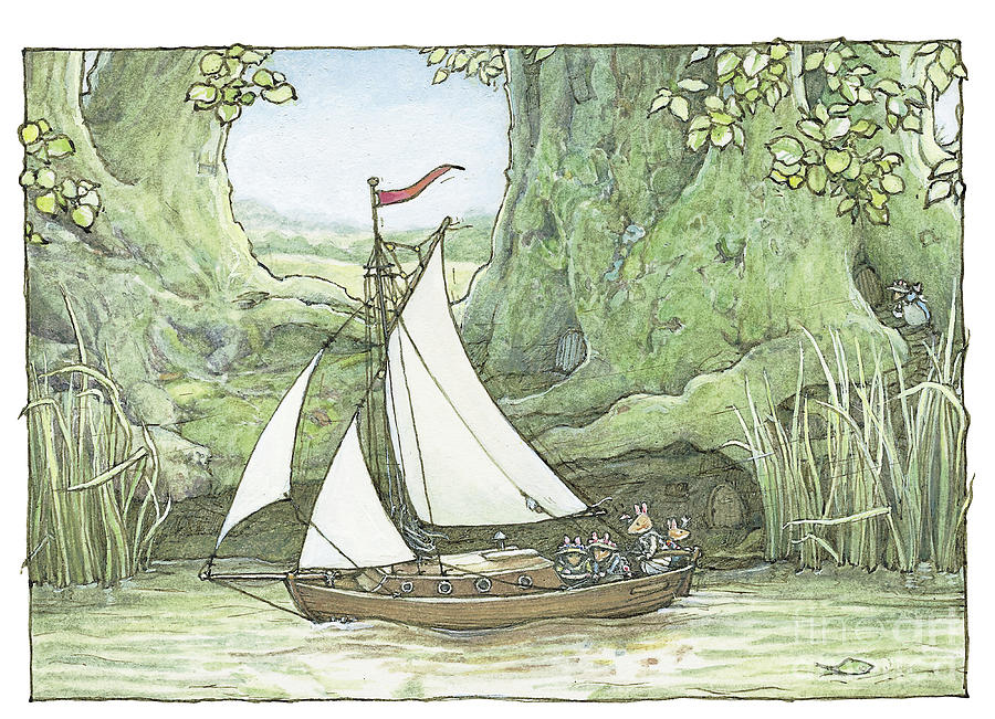 Brambly Hedge Drawing - Sea Story by Brambly Hedge