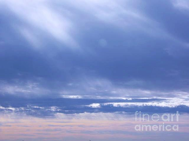 Sky Photograph - Sea The Couds by Nancy Ippolito