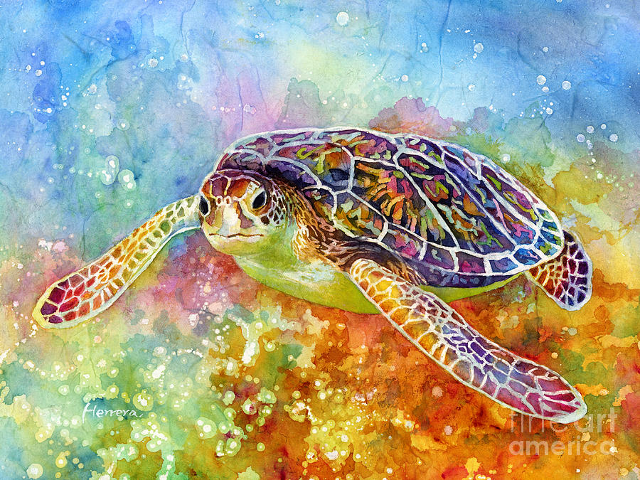 Sea Turtle 3 Painting