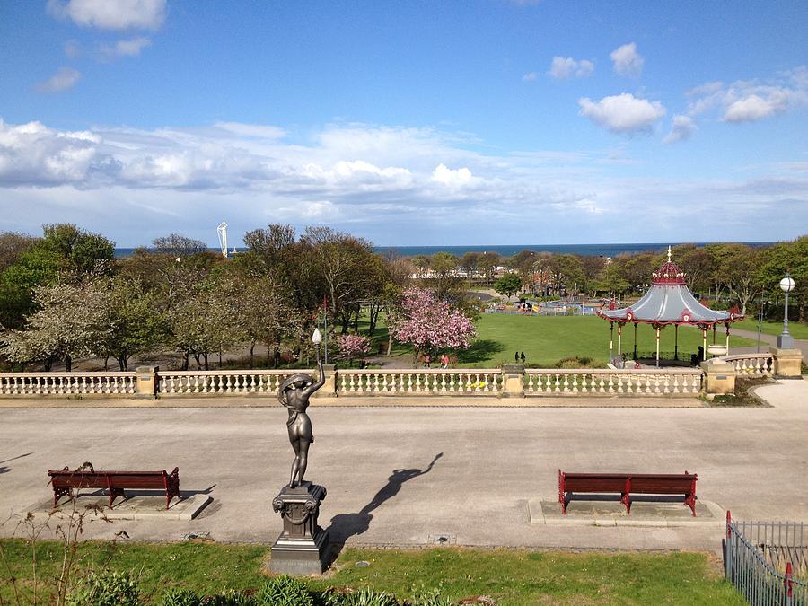 Park Photograph - Sea View by Adam Stobbs
