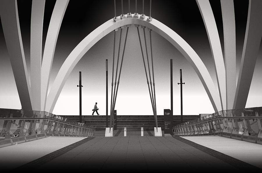 Webb Photograph - Seafarers Bridge by Adrian Donoghue