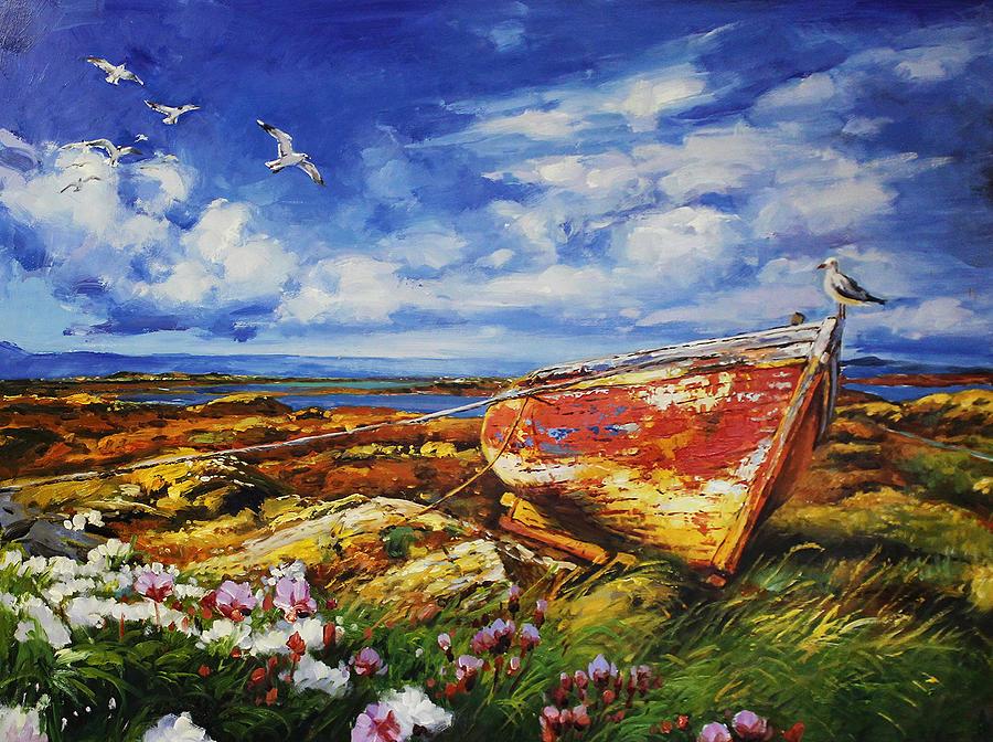 Seagull's Perch by Conor McGuire