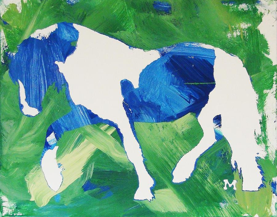 Horse Painting - Seahawks Horse by Candace Shrope