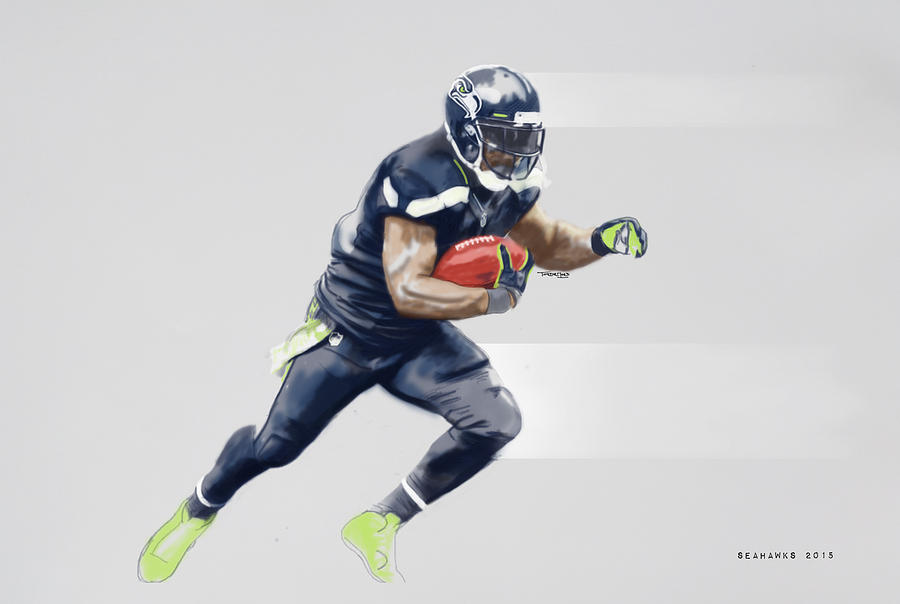 Football Mixed Media - Seahawks by TortureLord Art