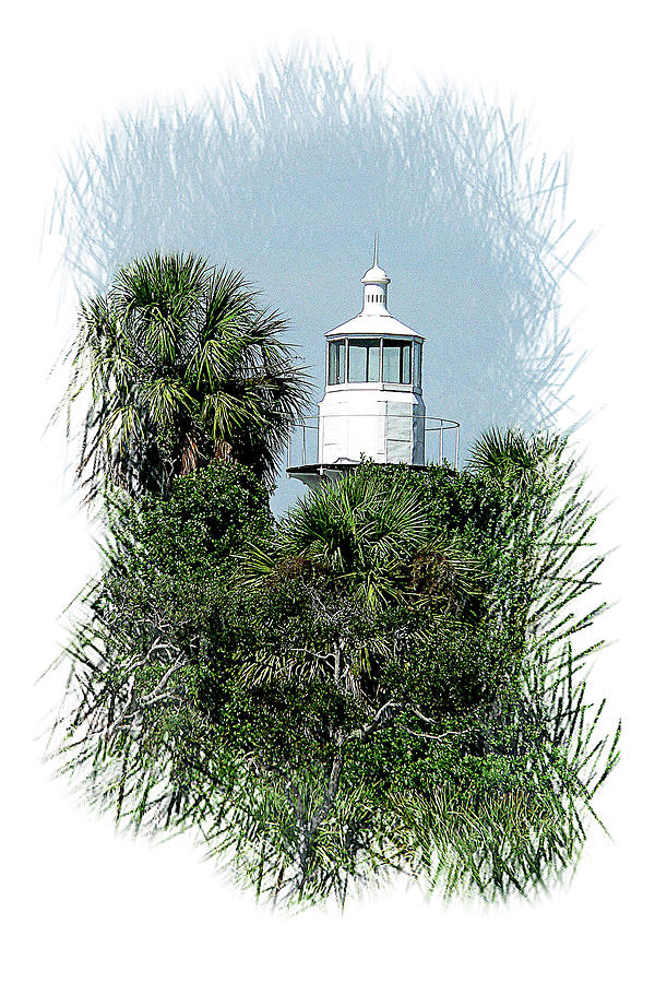 Seahorse Key Light by Gordon Engebretson