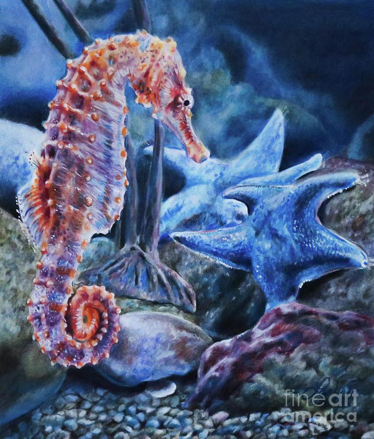 Seahorse by Lachri