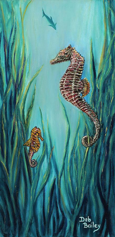 Seahorse Refuge by Debra Bailey
