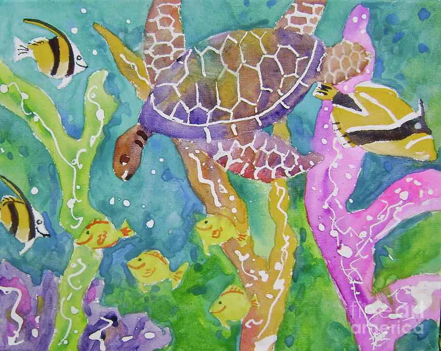 Sealife ll by Diane Renchler