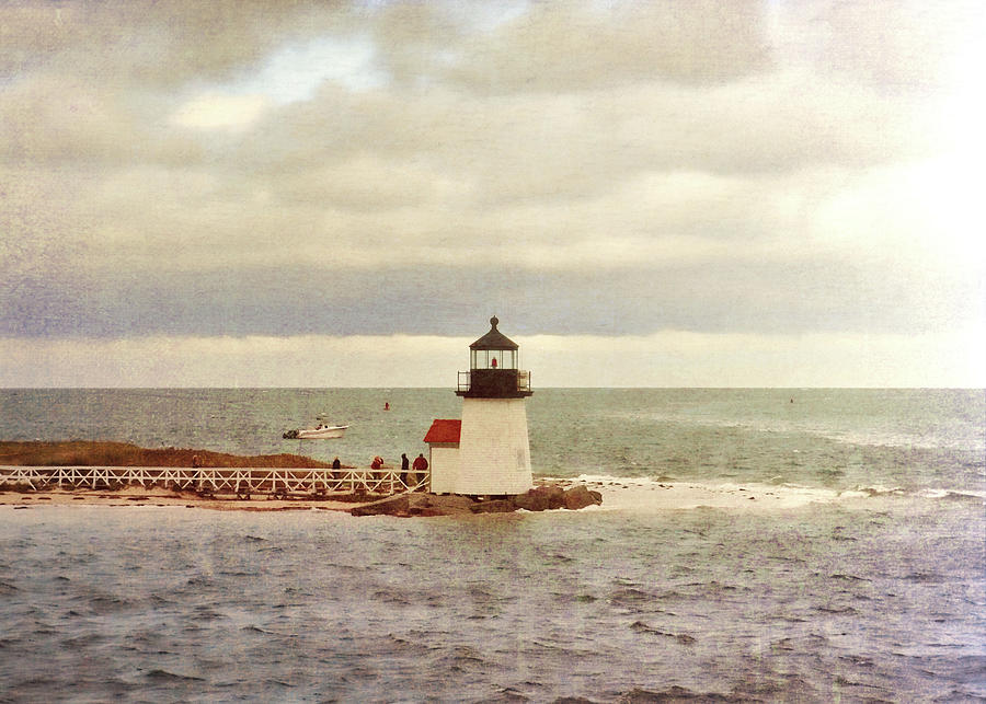 Cape Cod Photograph - Seamans Light by JAMART Photography