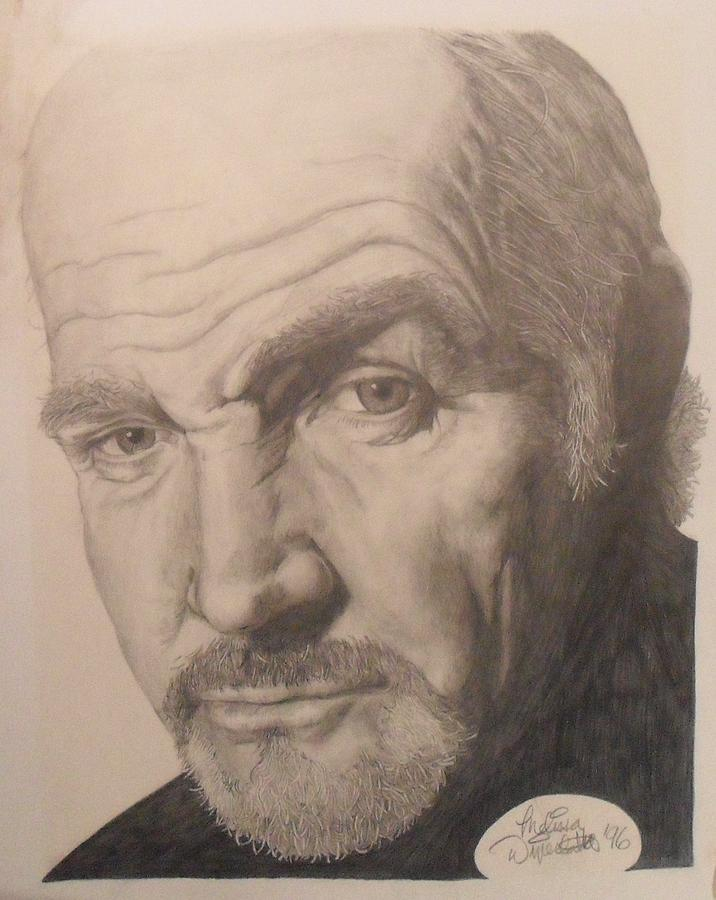 Sean Connery Drawing - Sean Connery by Melissa Dzierlatka