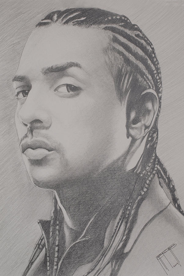 Sean Paul Drawing by Jeffrey Samuels